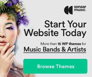 +17 WordPress Themes for music by Sonaar
