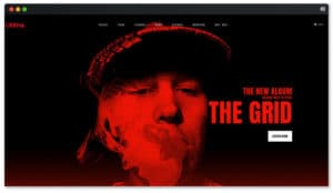 The Grid DJ WP Theme