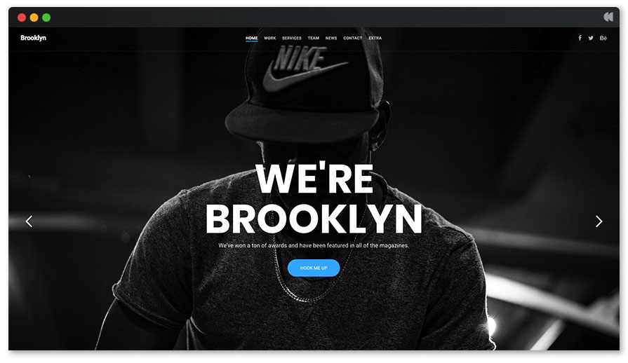 Brooklyn - Hip hop wordpress theme