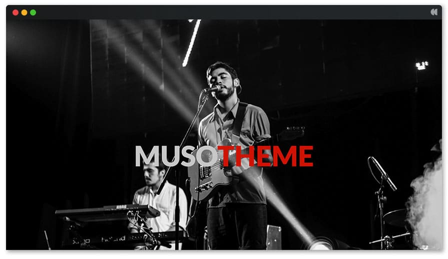 Muso - Free WP Theme Music