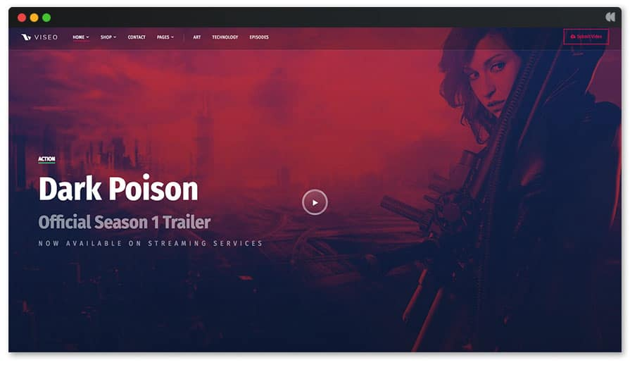 Viseo Podcast Website Template