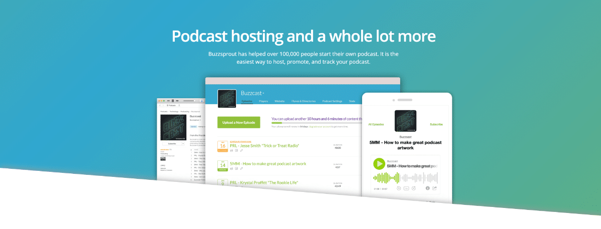 Buzzsprout will host your podcast easily