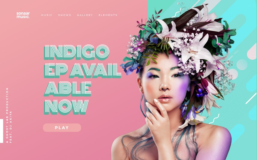 Hip hop wordpress theme