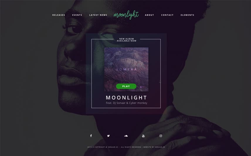 DJ WordPress Theme
