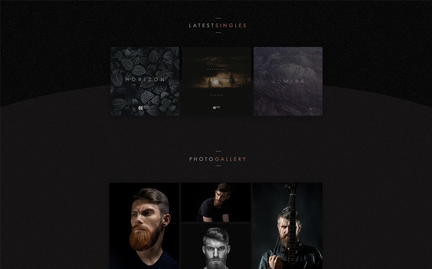 Outlander - WordPress Music Theme with Photo Gallery