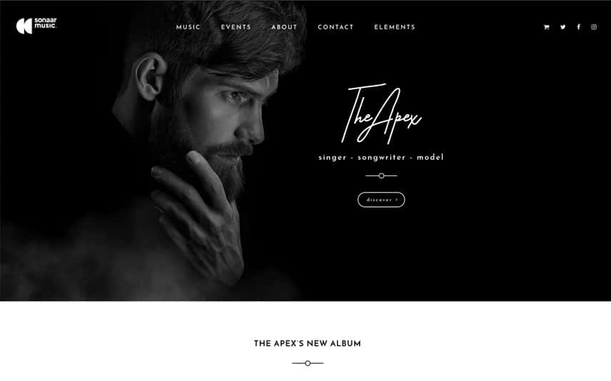 Best WordPress theme for Singers and Songwriters