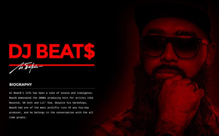 Music Producer WordPress Template
