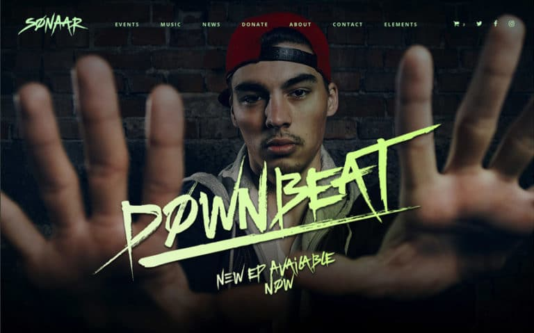 Best DJ, Hip-Hop and Musician WordPress Theme