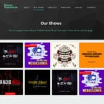 Responsive Podcast WordPress Template