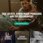 Best Recording Studio WordPress Theme